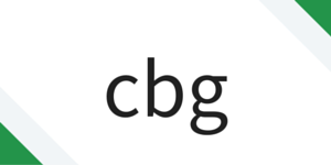 cbg text icon