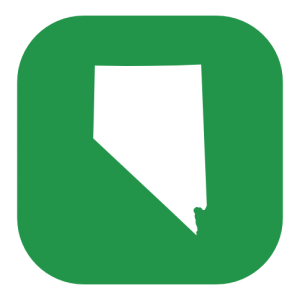 green nevada state icon
