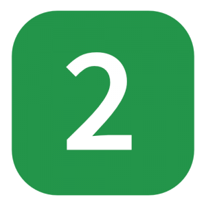 green number 2