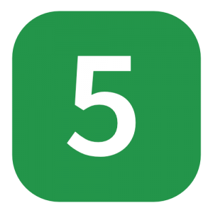 green number 5