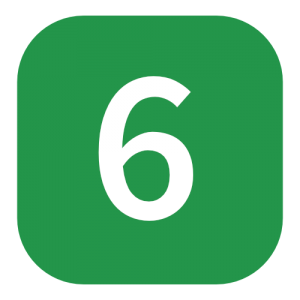 green number 6