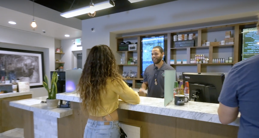 customer asking about dispensary discounts & deals