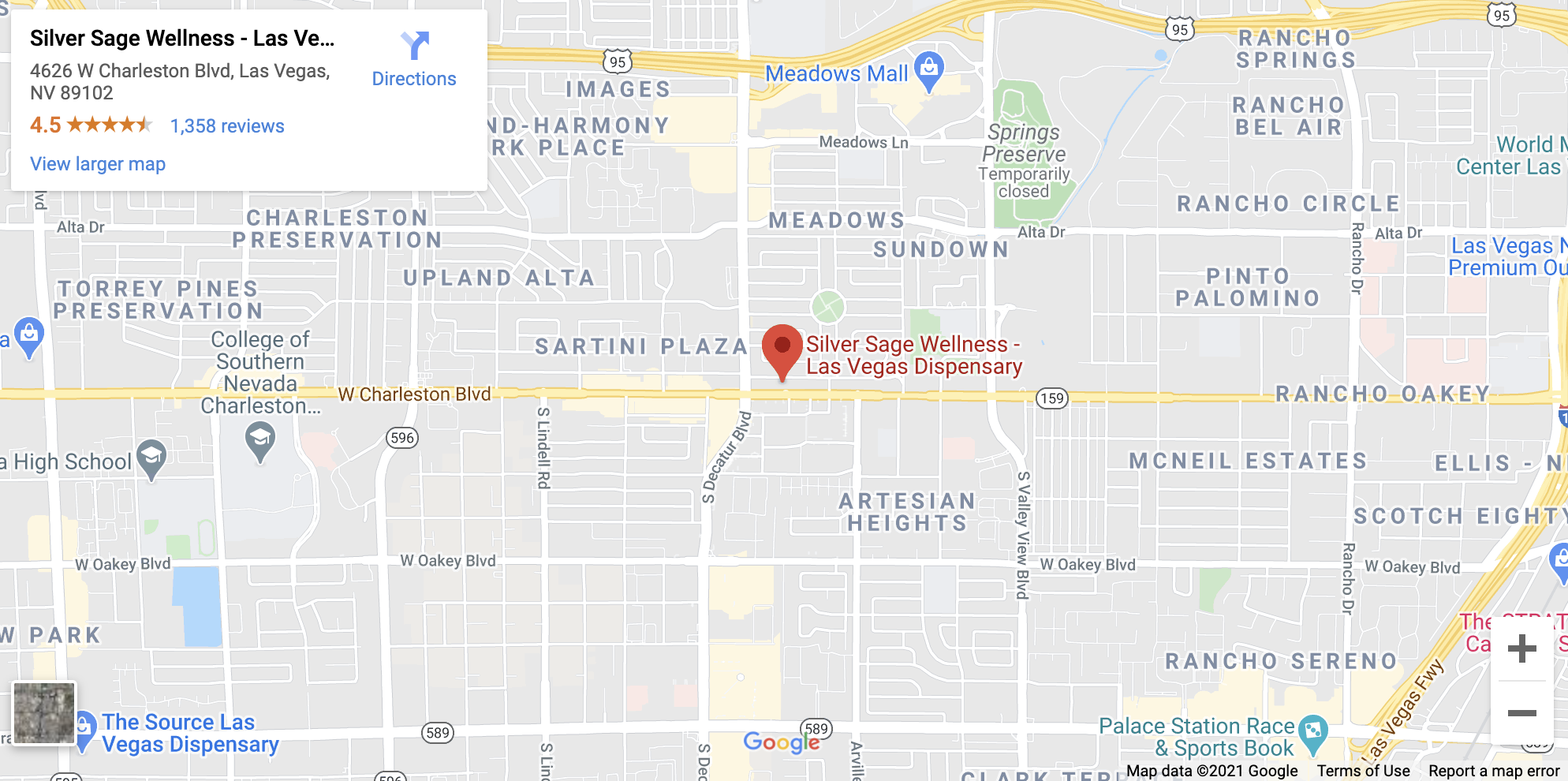 las vegas dispensary on google maps